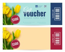 Bright Colorful Gift Voucher T...