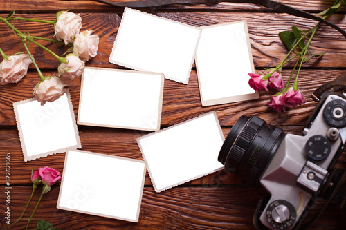 The mockup for a romantic family album