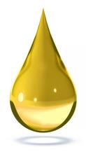 Drop Of Oil 3d Rendering