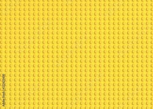 Constructon bricks abstract background 3d rendering Canvas Print