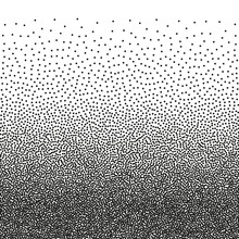 Stipple Texture. Vector Dotted...