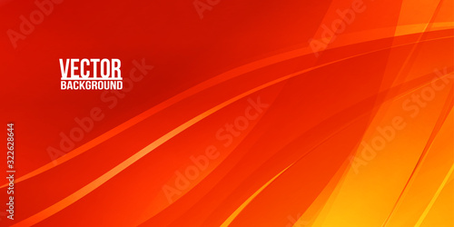 Photo Abstract red ardent background