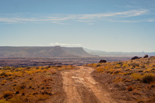 The Dirt Road Of The White Rim...