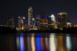 The skyline of Austin, Texas.