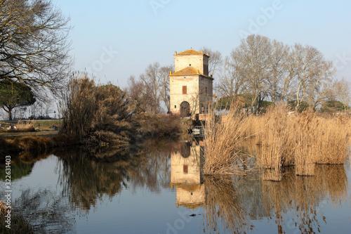 Photo Oasi naturalistica torre abate a Mesola provincia di Ferrara Italia