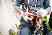 Rugged Climber Hands Sorting T...