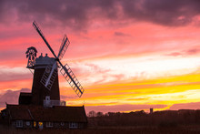 A Windmill At Cley Next The Se...
