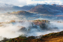 Looking Down Into The Langdale...