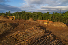 Land Clearing For Construction...