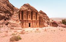Ad Deir In The Ancient Jordani...