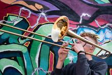 High School Jazz Band Trombone...