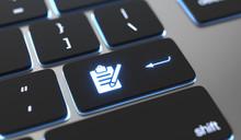 Register Icon On Keyboard Butt...