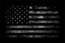 GRUNGE USA FLAG VECTOR