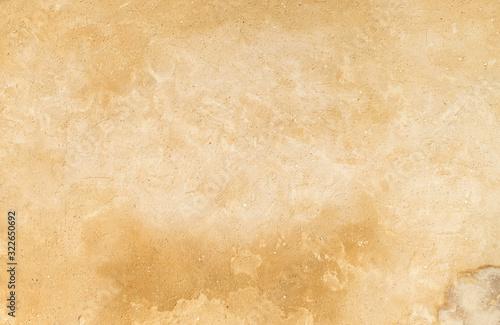 Fototapeta old plaster yellow wall background obraz