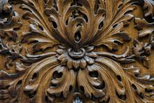 Wood Carving Close Up Elemen
