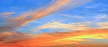 Beautiful Red And Orange Cloud...