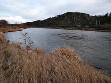 Vltava River Near Rez Town