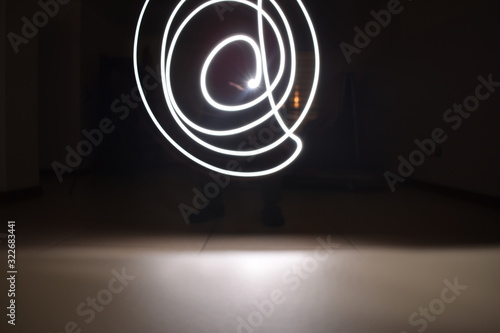 Photo Luz en movimiento