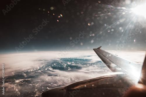 Photo vista aerea desde el avion