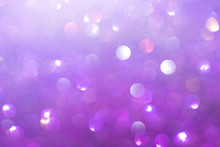 Abstract Purple Bokeh Light Defocus Glister Background