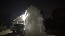 Fire Hydrant Explosion At Sadd...