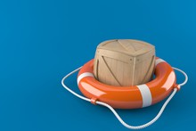 Life Buoy With Crate