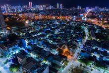 Nightscape Of Da Nang City, Vi...