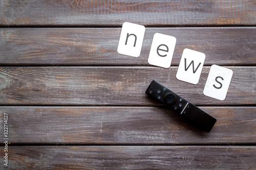 News concept Canvas-taulu