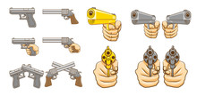 Pistol Vector Set Collection G...