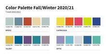 Color Palette. Fashion Fall Wi...