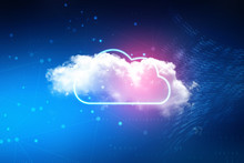 2d Illustration Abstract Cloud...