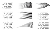 Speed Lines Collection. Set Of...