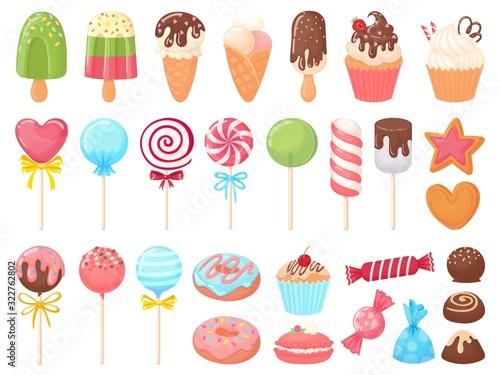 Cartoon sweets Poster Mural XXL