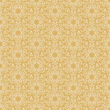 Gold Background Pattern. Background Image In Modern Style. Seamless Geometric Pattern, Wallpaper Texture