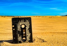 Old Rusty Music Tape Cassette ...