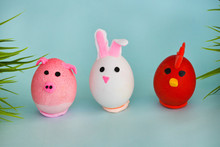Easter Holiday, A Handmade Egg...