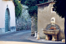 Old Medieval Italian Town Stre...