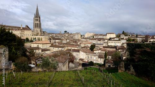 Village de Saint-Emilion (France - Bordeaux) Fototapet