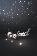 Cleveland Script Sign During H...