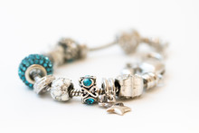 Beautiful Bracelet With Charms...