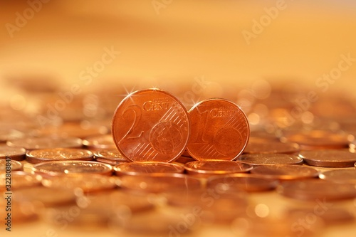 Photo Abolition of one and two cent euro coins