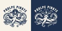 Vintage Marine And Sea Label