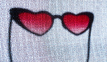 Heart Shaped Sunglasses Love Is Blind