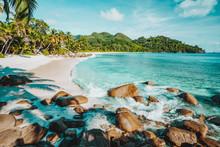 Mahe, Seychelles. Beautiful An...
