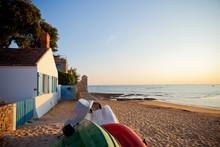 Noirmoutier, Plage, Paysage, O...