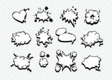 Hand Drawn Speech Bubble Explo...