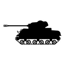 Silhouette Tank American World...