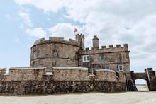 Pendennis Castle Near Falmouth...