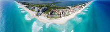 Cancun Beach And Hotel Zone Pa...