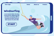 Windsurfing Design Flat Landin...